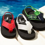 Beachside Walk: Kids' Flip-Flops