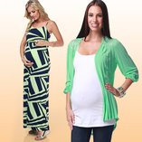 Sorbet Shades: Maternity Apparel