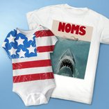 Sharks & Stripes: Fourth of July Apparel