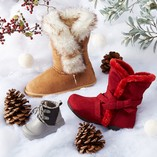 Faux Fur Fashion: Kids' Boots