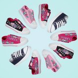 Canvas Cool: Kids' Sneakers