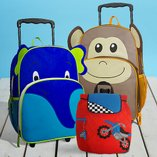 Around the World: Kids' Luggage
