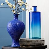 Indigo Hues: Home Décor