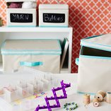 Artfully Organized: Craft Room