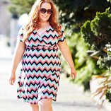 Draped Trends: Plus-Size