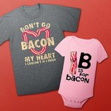 Bring Home the Bacon: Bodysuits & Tees