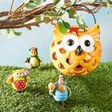 Springtime Owls: Fun Décor