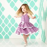 Polka Dot Perfect: Girls' Apparel