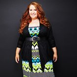 Black, White & Mint: Plus-Size Apparel