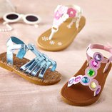 Step Into the Sun: Toddler Sandals