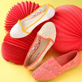 Fancy Footwork: Girls' Flats