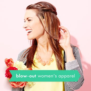 Blow-Out: Women's Apparel