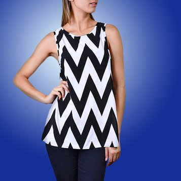 Chevron Chic: Women's Apparel