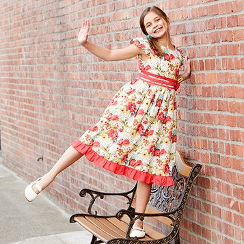 Garden Full of Sweetness: Girls' Dresses