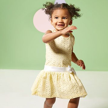 Spring Fancy: Girls' Dresses