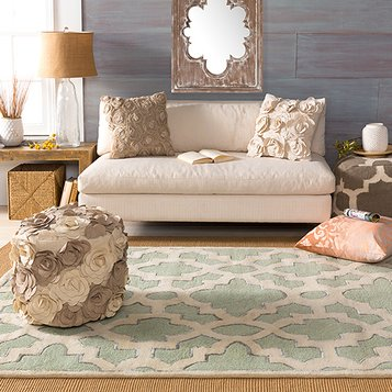 Vintage Chic: Family Room