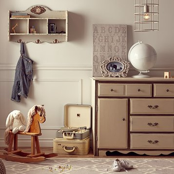 Vintage Chic: Kids' Room
