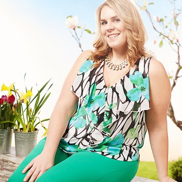 On Easter Day: Plus-Size Apparel