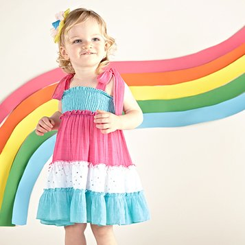 Rainbow Brights: Dresses & Separates