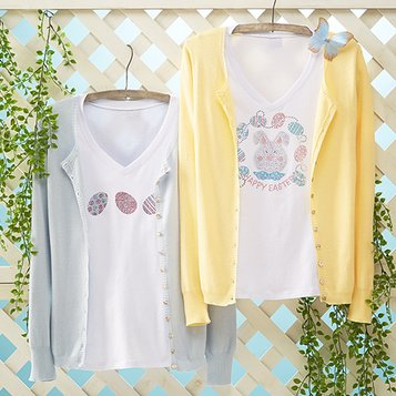 In Easter Colors: Women's Apparel