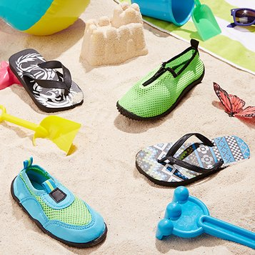 By the Beach: Sandals & Water Shoes