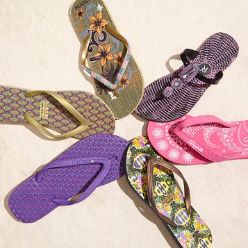 Day at the Beach: Flip-Flops & Sandals
