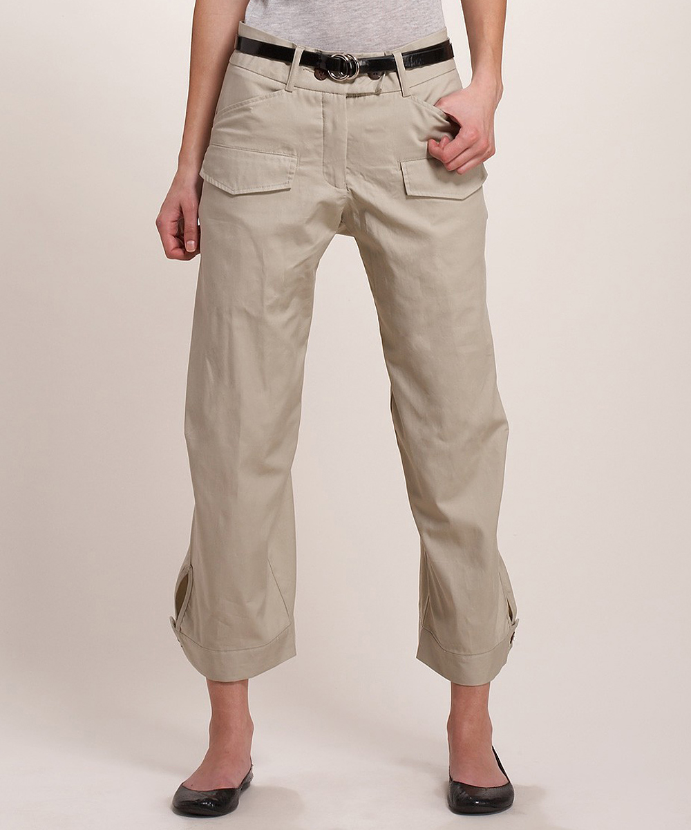 Awesome WOMEN CARGO CROPPED PANTS 3990 1990