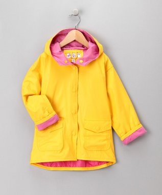 kids yellow raincoats, boys yellow raincoats, girls yellow