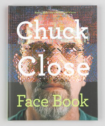 Chuck Close: Face Book Hardcover