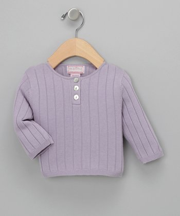 Lilac Ribbed Sweater