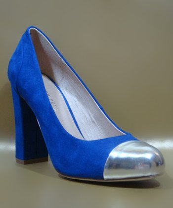 Blue Cappy Pump