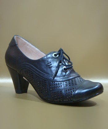 Black Marilyn Oxford Pump