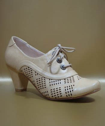Nude Marilyn Oxford Pump