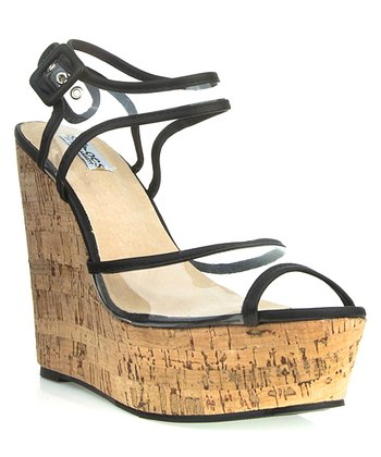 Black Kelly Wedge