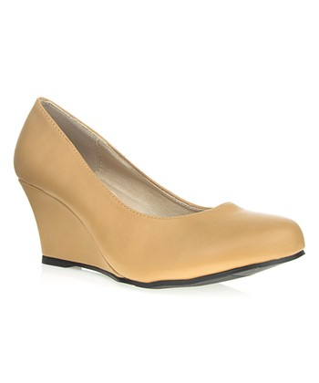 Beige Rachel Wedge