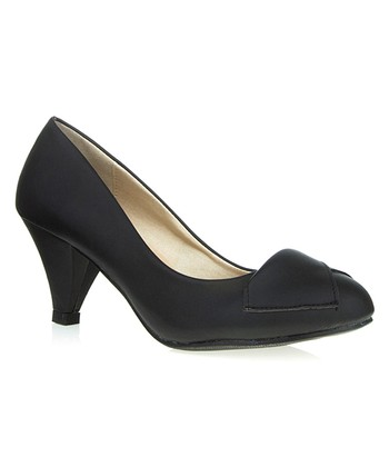 Black Patent Hillary Pump