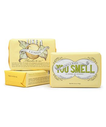Lemon Bar Soap Set