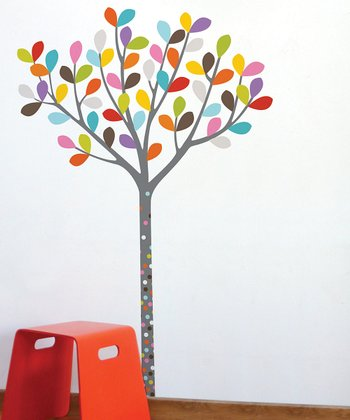 Colors in the Woods Wall Decal