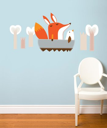 Paolo Goes Boating Wall Decal