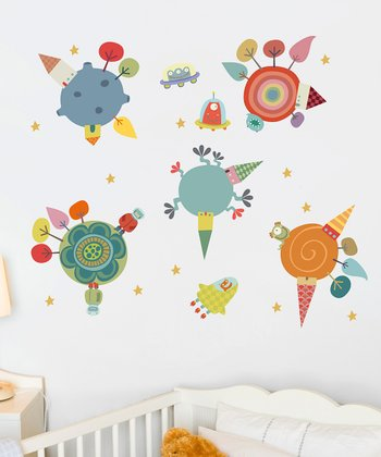 Planets Wall Decal