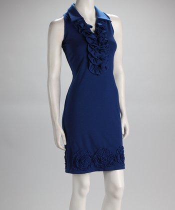 Sapphire Sleeveless Dress