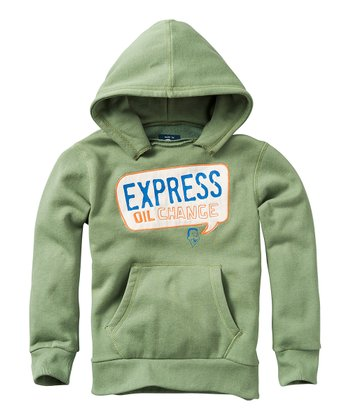 Forrest Green 'Express Oil Change' Hoodie