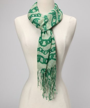 Green Chain Scarf