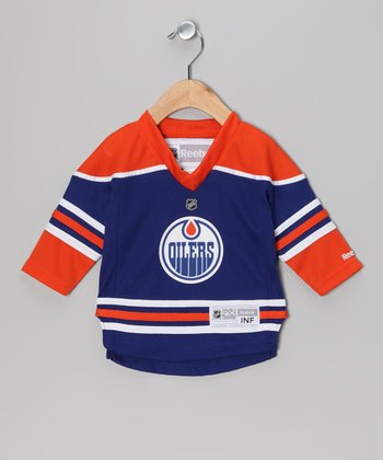 Blue & Orange Edmonton Oilers Jersey - Infant, Toddler & Kids