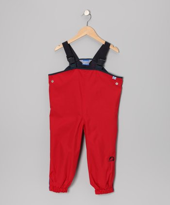 Red Jolla Bib Pants - Infant, Toddler & Kids