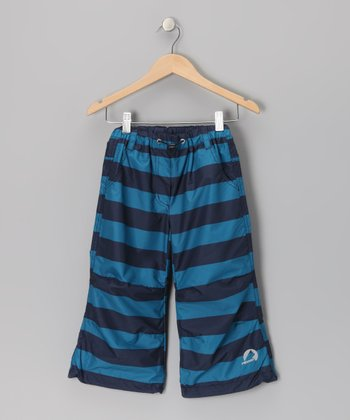 Seaport & Navy Kantri Summer Pants - Infant, Toddler & Boys