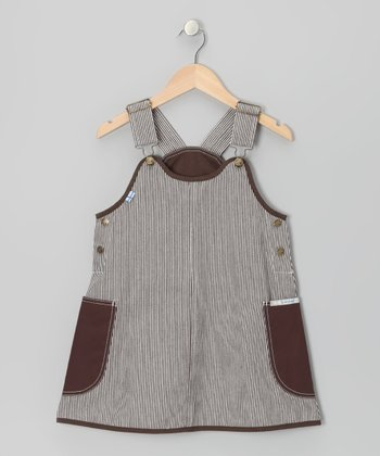 Brown Stripe Kiikuu Jumper - Infant, Toddler & Girls