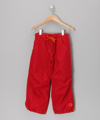 Red Kiksa Pants - Infant, Toddler & Kids