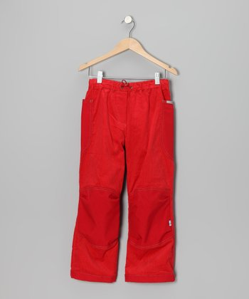 Fire & Red Kuu Pants - Infant, Toddler & Girls