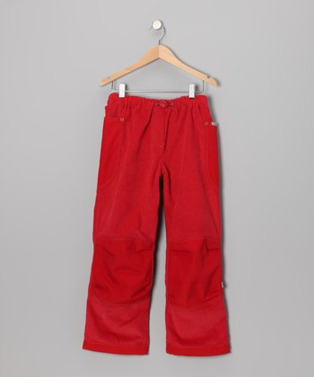 Red Kuu Pants - Infant & Girls